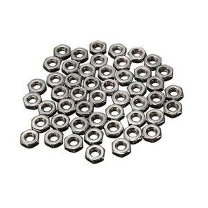 FEUILLE METALLIQUE 100pcs M2 2mm Vis Hexagonale en acier inoxydable é