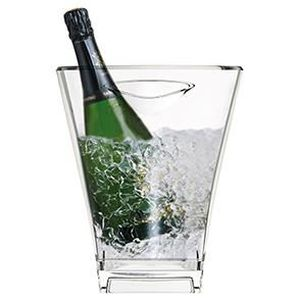 SEAU - RAFRAICHISSEUR  Seau à champagne Quadra transparent