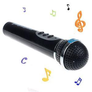 MICRO - KARAOKÉ Filles Garçons microphone Mic chant karaoké Kid dr
