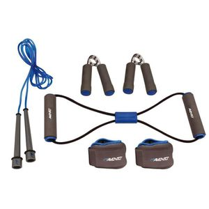 PACK FITNESS - GYM AVENTO Pack fitness 6 pièces - Bleu