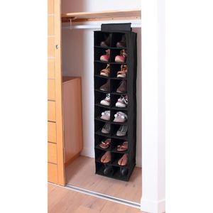 Casame Etagère Tissu Pour Rangement 20 Paires Chaussures 50 X 30 X
