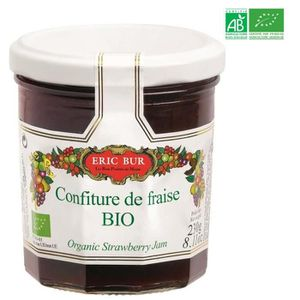 CONFITURE - MARMELADE ERIC BUR Confiture Fraise Bio 230g