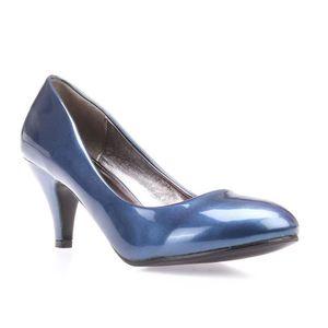 c86d18b06c4687 ESCARPIN Escarpins vernis bleus à talon aiguille
