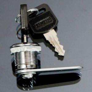 SERRURE - BARILLET NEUFU 16-30mm Serrure Clé Cabinet Casier Boîte Let