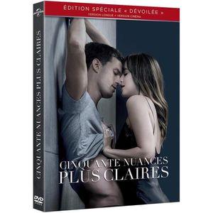 DVD FILM Cinquante nueances plus claires DVD