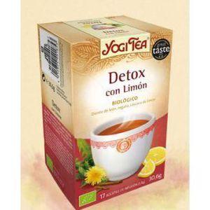 COMPLÉMENT MINCEUR Bio Citron Detox Infusion 17 Sacs