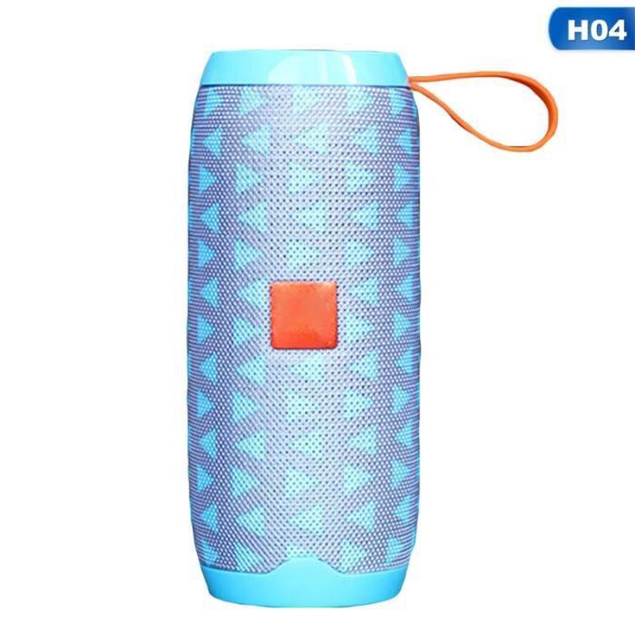 1pc Support Fm Radio Sans Fil Portable Double Camouflage Haut-parleur Bluetooth H04