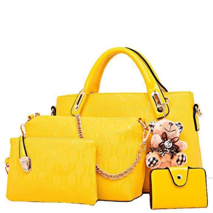 sac à main femme sac cuir femme jaune sac à main De Luxe Femmes Sacs Designer sac à main femme 2017