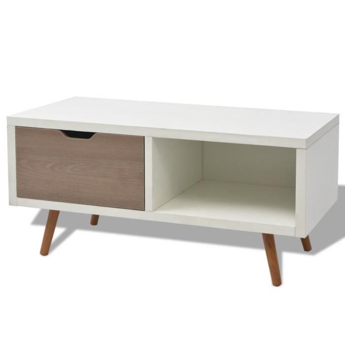 Meuble tv blanc hauteur 70 cm blog de conception de maison for Meuble bureau hauteur 70 cm