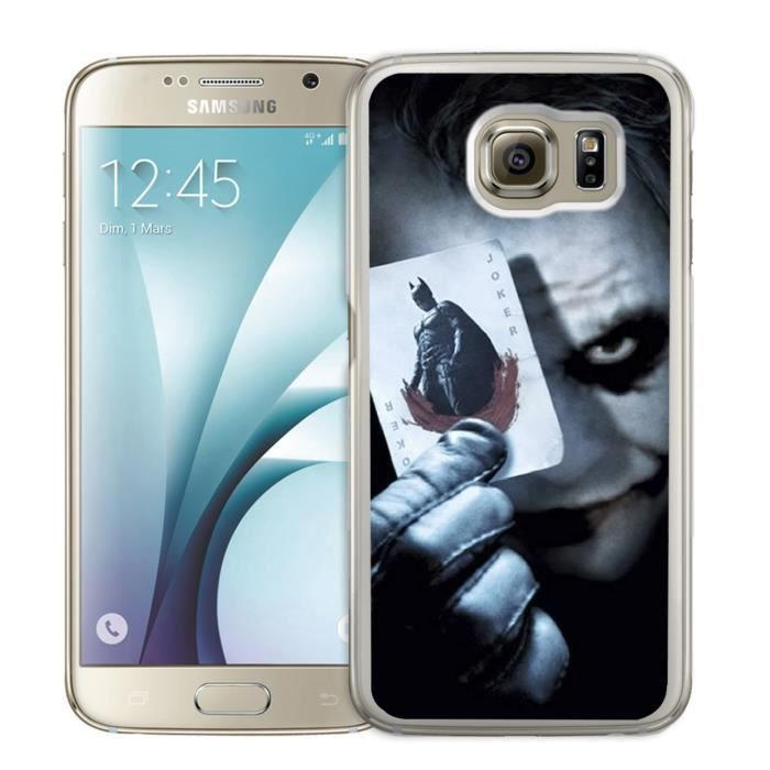coque galaxy s6 joker