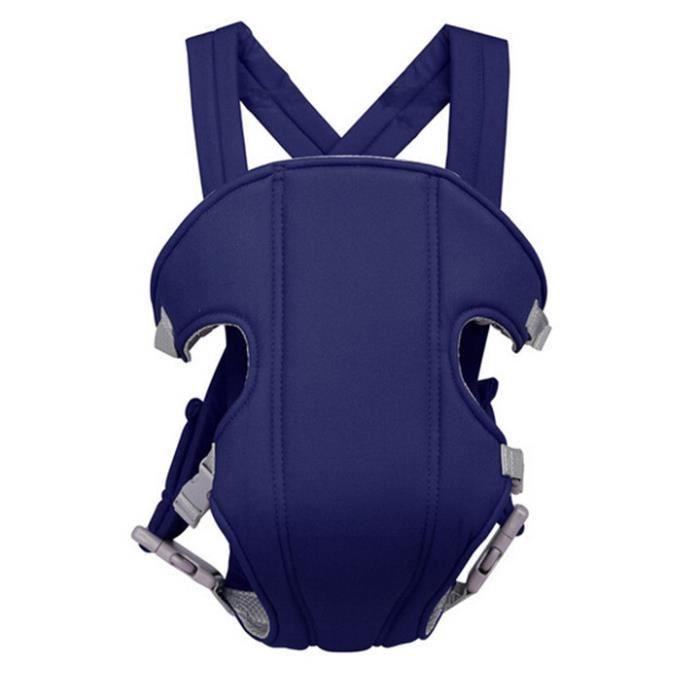 0eece619053a Porte-bébé léger respirable Portable Utilisation durable multifonctionnel  Bleu Marine