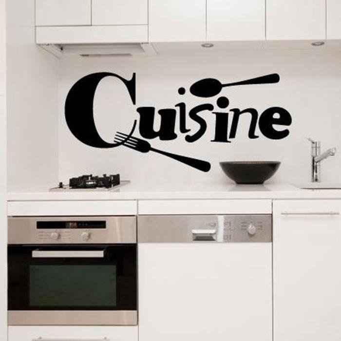Stickers muraux de cuisine achat vente stickers muraux de cuisine pas cher cdiscount - Stickers muraux pas cher ...