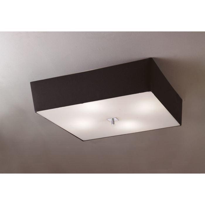 plafonnier design abat jour noir akira mantra achat. Black Bedroom Furniture Sets. Home Design Ideas