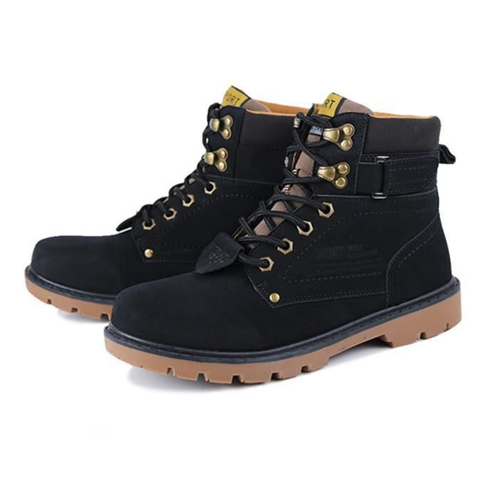 2016 Chaussures Automne Hiver Bottes Hommes Mar... fxD5rd