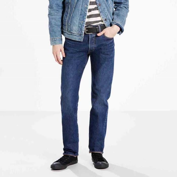 5c461599fc0ae Vêtements homme Jeans Levi´s 501 Original Fit Wrap Stretch L32 Bleu ...