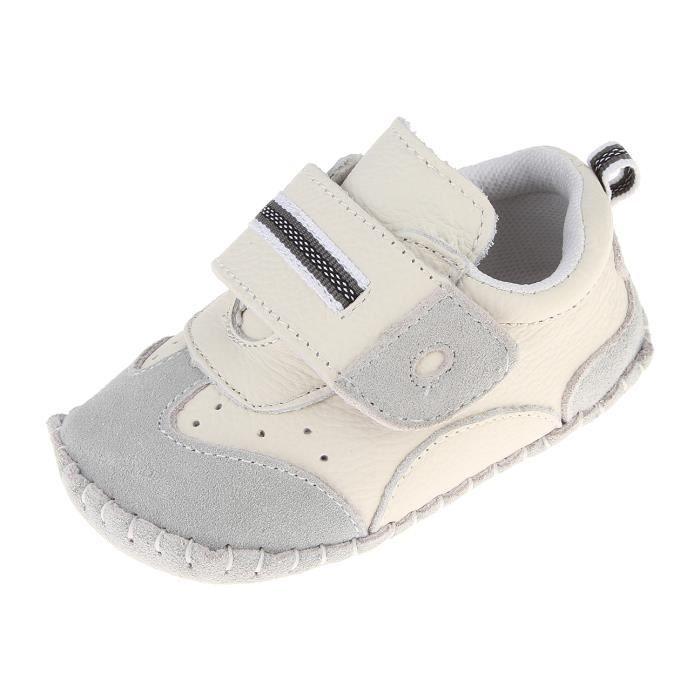 a6338a77aa9d2 CHAUSSON - PANTOUFLE EOZY Chaussures Bébé en Cuir Souple Premier Pas Ch