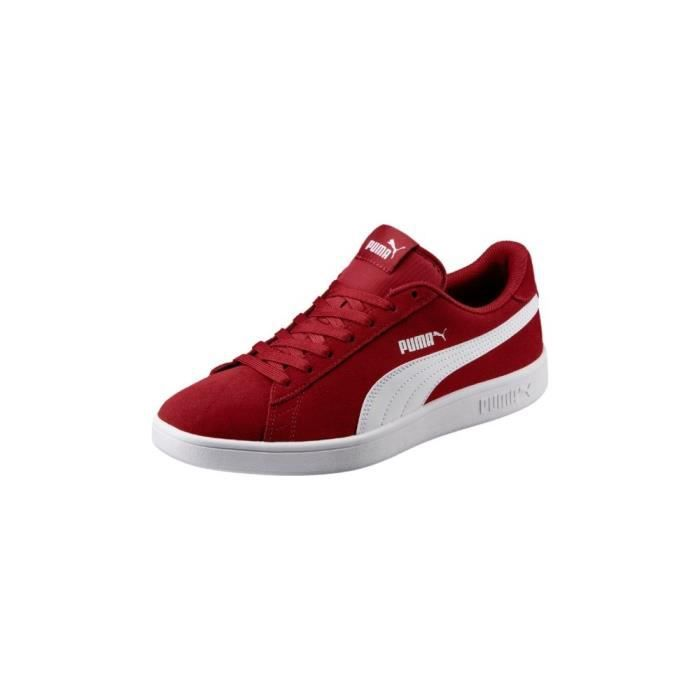taille 40 d3814 12f43 Rouge Chaussures Smash Achat Vente Basket Puma Cdiscount V2 ...