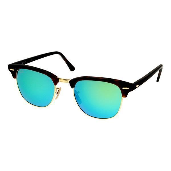 Lunettes de soleil ray ban clubmaster rb 3016 -… Vert - Achat ... 6b68062084a1