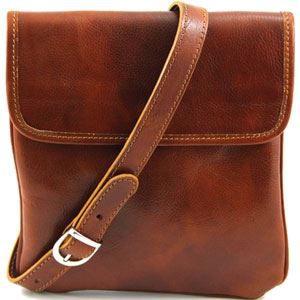 Tuscany Leather - Sac porté épaule cuir - Miel …