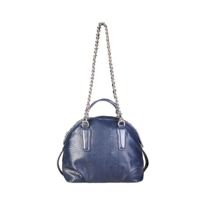 Cavalli Class - Sac porté épaule pour femme (C41PWCBV0052_080-BLUE) - Bleu