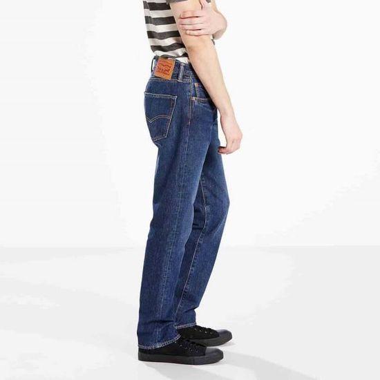 381598e95616c Vêtements homme Jeans Levi´s 501 Original Fit Wrap Stretch L32 Bleu Bleu -  Achat / Vente jeans - Cdiscount