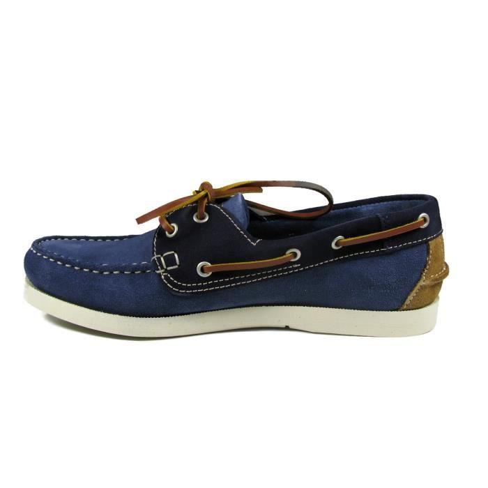Chaussures bateau en cuir Homme TBS - PHENIS