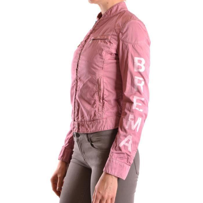 Rose Coton Blouson Femme Mcbi051040o Brema 4RxBTB