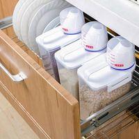 BOITE DE RANGEMENT 2L Distributeur de céréales en plastique Boîte de