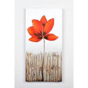TABLEAU - TOILE Tableau déco Fleurs  47 -  Toile peinte à la main