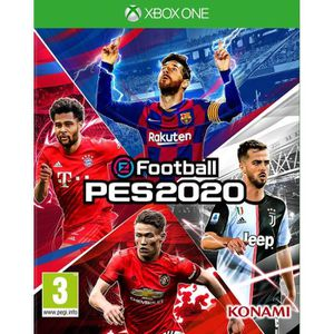 JEU XBOX ONE eFootball PES 2020 Jeu Xbox One