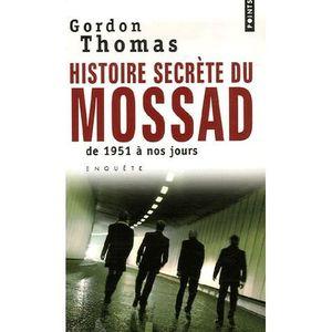 LIVRE GÉOPOLITIQUE Histoires secrètes du Mossad