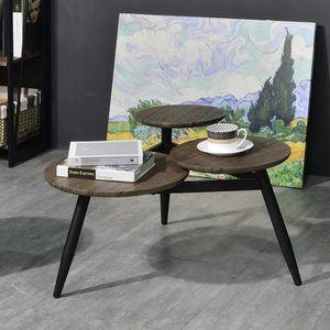 BOUT DE CANAPÉ Aingoo Bout de canapé ,table à café - Pied en méta