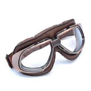 LUNETTES - MASQUE Lunettes Moto Vintage Goggle Moto Cross Clair lent