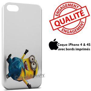 COQUE - BUMPER Coque iPhone 4 & 4S Minion 18