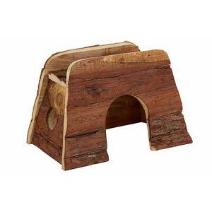 ACCESSOIRE ABRI ANIMAL BUBIMEX Maison en bois - Pour rongeurs