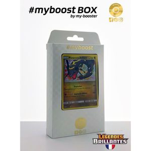 CARTE A COLLECTIONNER Coffret #myboost RAYQUAZA Brillant 56/73 - Soleil