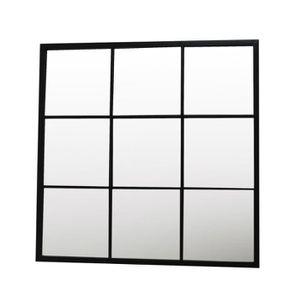Miroir industriel achat vente pas cher for Miroir fenetre industriel