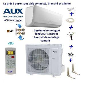 CLIMATISEUR FIXE Climatiseur réversible 3.5 kW Aux tactique kit (so