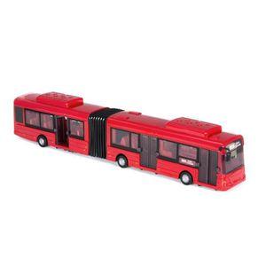 VOITURE À CONSTRUIRE Bus double rouge