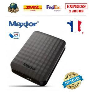 DISQUE DUR EXTERNE Disque Dur Externe Maxtor 4 To STSHX-M401TCBM USB