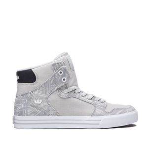 BASKET Chaussures SUPRA VAIDER cool grey white