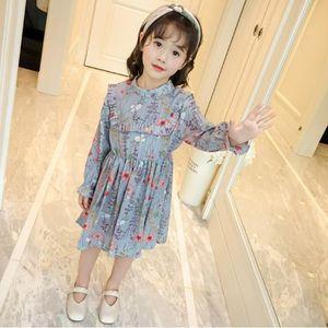 d694a44bb6f29 ROBE Enfants Kid filles Robe imprimé floral Volants vêt ...