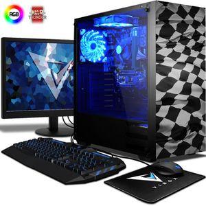UNITÉ CENTRALE + ÉCRAN VIBOX Pyro SA4-203 PC Gamer Ordinateur avec War Th