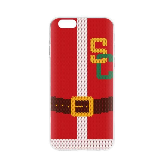 FLAVR Coque Cardcase Ugly Xmas Sweater College Santa - Iphone 6 / 6s