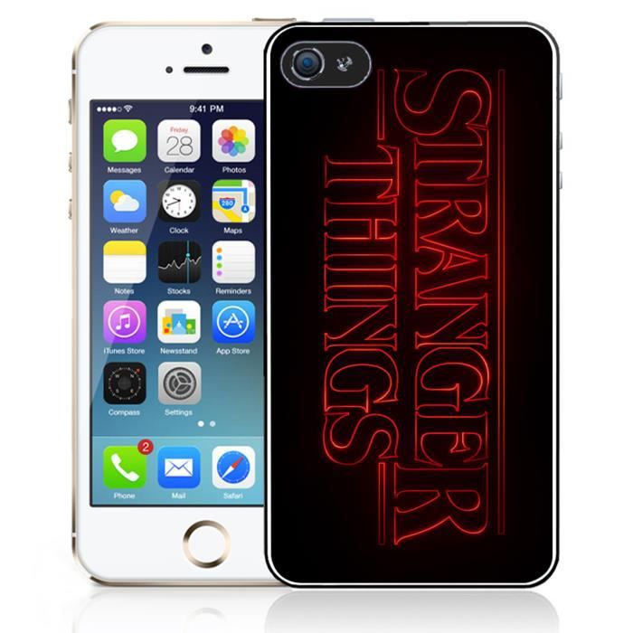 coque iphone 5 stranger things 3