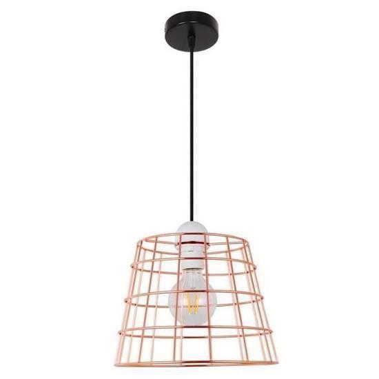 Tête Métal Suspension Cage En Industrielle D'oiseau Lumières Simple Forgé De Lustre Loft Fer Lampe Placage 5Lq4R3jcAS