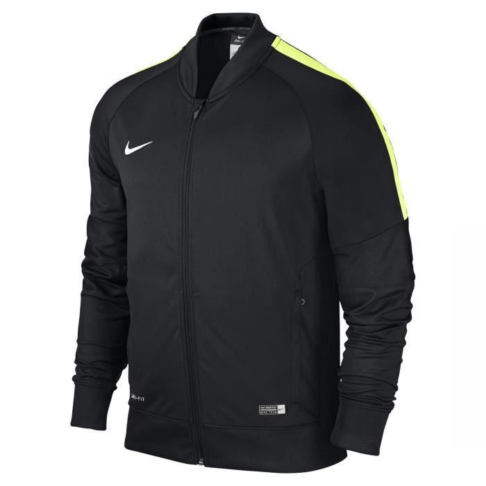 Royaume-Uni disponibilité 6e7df b0e84 Veste enfant Squad 15 Nike noir/jaune fluo taille 6ans noir ...