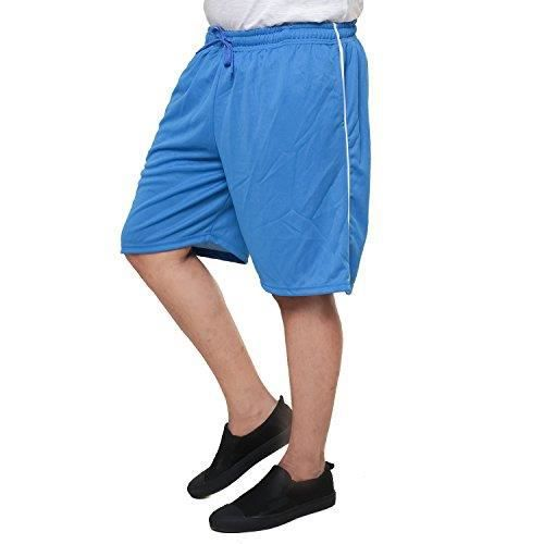 Shorts Jersey hommes (tailles S à 4XL) V4XX4 Taille-36 Rouge Rouge ... 4be64c18be46
