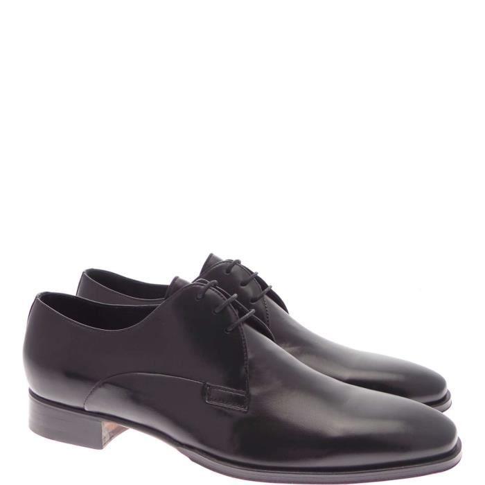 Melluso Lace Shoes Homme Noir, 39