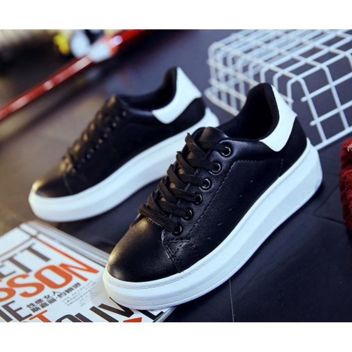 Pures Chaussures Couleur Plate forme Sport Femmes